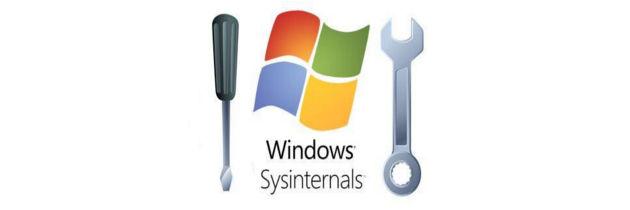 Служебные программы от компании Sysinternals. Сведения о системе
