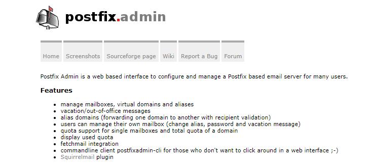 Добавление русскоязычных доменов в Postfixadmin