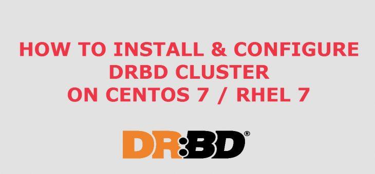 Настройка DRBD9 CentOS7